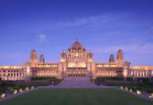 Лучший отель мира Umaid Bhawan Palace Jodhpur