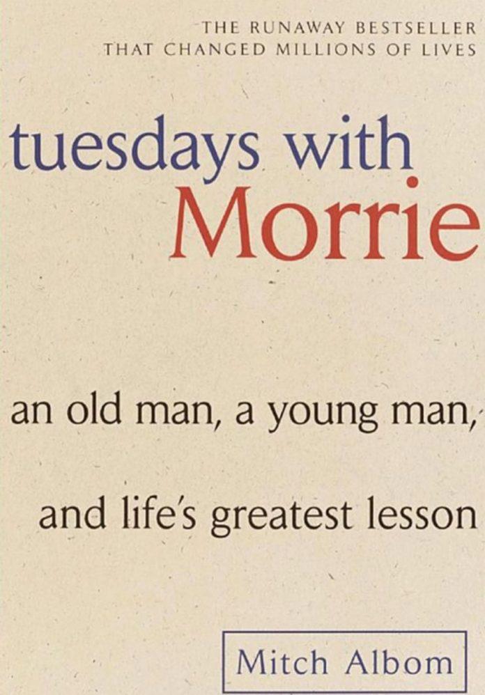 """#КнигаНедели - """"Величайший урок жизни или вторники с Морри"""