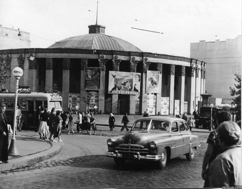 Купол, ящик, 2 коня, или как в Киеве цирк появлялся