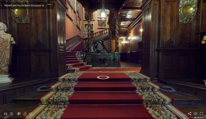 Музей Ханенко теперь и онлайн, и в 3D