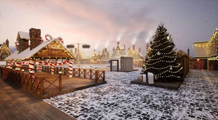 В Киеве появится зимняя деревушка по мотивам Гарри Поттера - Osocor Winter Village